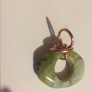 Hand wrapped Agate stone